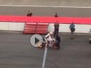 Fernando Alonso auf Honda RC213V in Motegi
