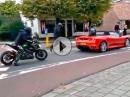 Ferrari geklaut, weil weggeschaut - Fake - so doof ist niemand! - Oder doch?