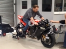 Firing up Ducati Desmosedici GP8 - V4 Himmel