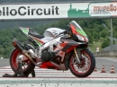 First Ride Aprilia RSV4 RF mit FW Kit (Factory Works Kit) by MCN