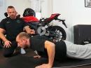 Fitness Basisübungen für Motorradfahrer von Asphalt Süchtig
