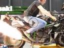Flammendes Sound Inferno: Kawasaki H2R Dynorun