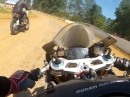 195PS Flat Track Ducati 1199 Panigale TerraCorsa - Rennen gewonnen