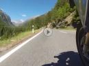 Flüelapass - von Susch nach Davos mit BMW R1200GS