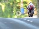 Flugshow: Bruce Anstey Honda RC213V-S, Ballacrye IOM TT 2016