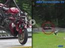 'Flugshow' Yamaha Crash Nürburging Nordschleife am Adenauer Forst