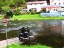 Flussdurchfahrt im schönen Harz