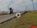 Flyby: Street Triple, SC-Project Conic mit / Ohne dB-Killer - Sound = TOP