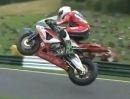 Flying Superbikes - Flugshow der 'RAF' (Royal Air Force) in Cadwell Park