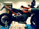 Folierung: KTM 790 Duke by 4moto.de