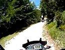 Forte Cima Ora, Forte dell'Ora, Anfo, Lombardei, Italien leichte Endurotour