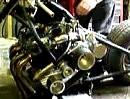 Honda 750 Four Brachial-Eigenbau Chopper Robbie Blown