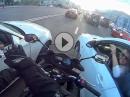 Frauen halt ... Hilfsbereiter Motoradfahrer gegen Nikotinmangel