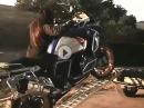 Frauenpower: BMW GS verladen und entladen. SO macht Frau das!!!
