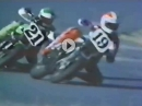 Freddie Spencer (#19) vs. Eddie Lawson (#21) AMA Superbike 1980