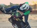Freestyle Motorradstunt by Throttlerz (Padma Prashanth) coole Aufnahmen