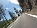 Freude am Fahren - von Saltaus nach Tirolo (Dorf Tirol) im Südtirol