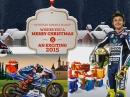 Frohe Weihnachten von Yamaha MotoGP, Rossi und Lorenzo