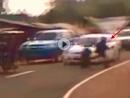 Frontal Crash durch Sprung verhindert - Ninja Biker mit MEGA Reflex