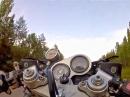Fun mit Suzuki GSX-R Turbo - bucking bronco