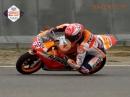 """Minibike """"Funktionstest"""" Marc Marquez zurück auf dem Motorrad nach seiner Schulter-OP"""