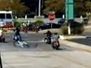 Motorrad Crash: Dampf im Kessel muss beherrscht werden