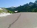 Furkajoch Abfahrt Richtung Damüls, Vorarlberg, Österreich