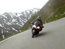 Furkapass (Schweiz) abwärts Motorradtour mit Kawasaki 1400 GTR