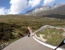 Furkapass von Gletsch nach Realp mit Moto Guzzi Griso 8V SE