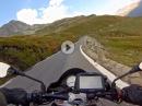 Furkapass vom Rhonegletscher nach Realp mit Aprilia Tuono V4 1100 RR