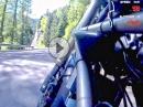 Gampenpass von Lana nach Fondo, Ducati Monster