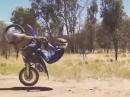 Ganz einfach - Wheelie geht schief ;-)