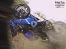 Horror Crash: Nasse Straße, zu schnell, Kurve und Abflug - Yamaha R15 V3