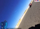 Garmin Virb Onboard BMW S1000RR Almeria Pulsfrequenzaufnahme