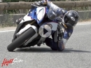 Gaskrank Test: BMW S1000RR auf Knie und Ellbogen - durchgeknallte Reddis