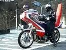 Gasstoß Orgien - seltsame Menschen in Japan mit noch seltsameren Motorrädern