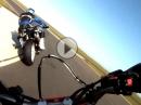 Gebückte demütigen: KTM 690 SMC vs Gebückte - Brandsalbe verteilt