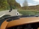 Gegenverkehr, Crash verhindert - soviel Glück geht normal nicht!