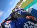 Geht steil! Jerez onboard, Michael van der Mark, Pata Yamaha WorldSBK Rider
