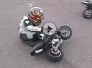 Geil: Minibike / Pocketbike 'Kindergarten' in Spanien - so wird das!