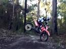 Geil! MX Skills - Drehen (360 Grad) im Wald - Braapp