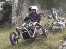 Geil! Swincar Spider- kein Motorrad, aber auch kein Auto - Quad?!