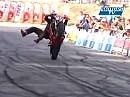 Geile Stuntshow von Humberto Ribeiro - Motorrad Artist Weltmeister