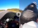 Geiler Save: Lenkerschlagen (Whobble) bei 250km/h Top reagiert und gestanden.