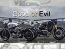 "Geiler Umbau: ""Good or Evil"" Cafe Racer Yamaha XV 920 Virago by Moose MotoDesign"