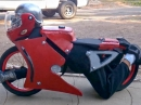 Geiles Motorrad Kostüm - selbst gebaut !