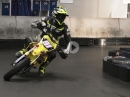"Geiles Sumo-Vid: Winter Supermoto Training, Alex Neuberger #91, Karthalle ""All Kart"" in Kaufbeuren"