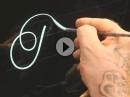 Genial: Pinstriping - Freihand schreiben - die hohe Kunst der Linien.