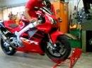Geniale Lösung: Paddock Stand Motorrad Ständer Transportständer