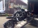 Geniales Teil: Motorrad verladen Vollautomat